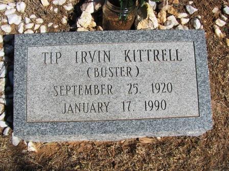 Tip Irvin Buster Kittrell
