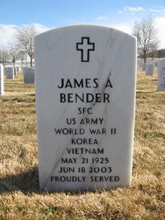 James Arthur Bender