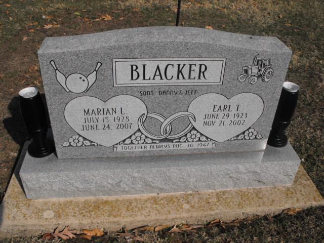Marian L. <i>York</i> Blacker