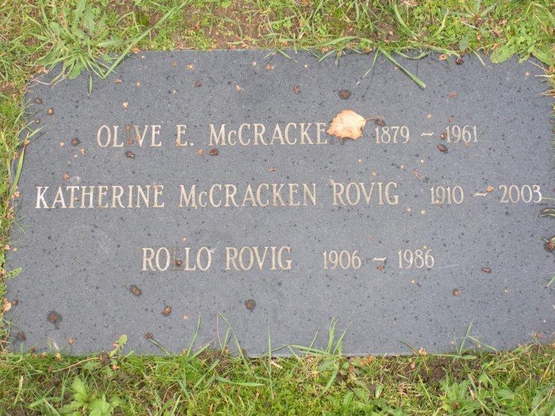 Olive Elizabeth <i>Atwood</i> McCracken