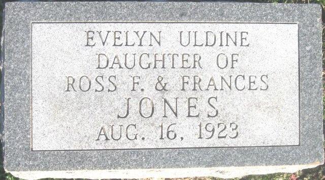 Evelyn Uldine Jones