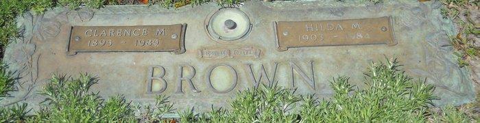 Hilda Mary <i>Daniels</i> Brown