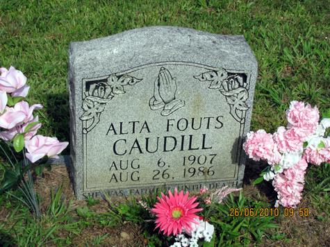 Alta <i>Caudill</i> Fouts