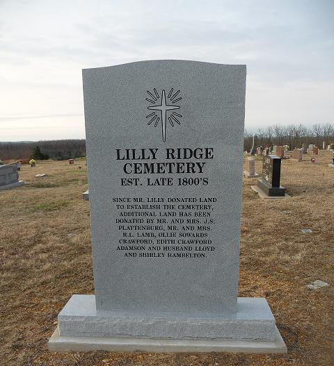 Lilly Ridge Cemetery
