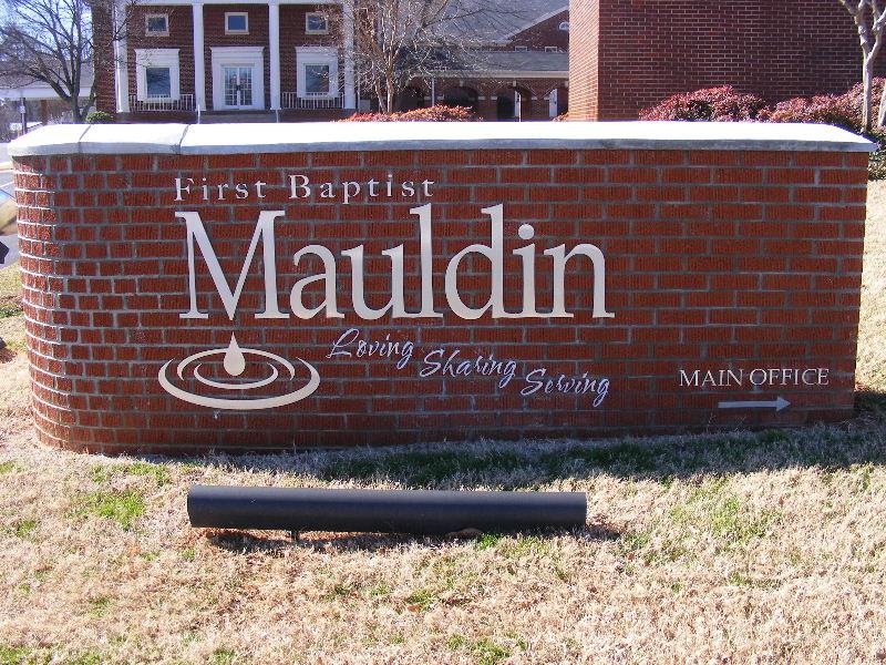 First Baptist Church of Mauldin Cemetery