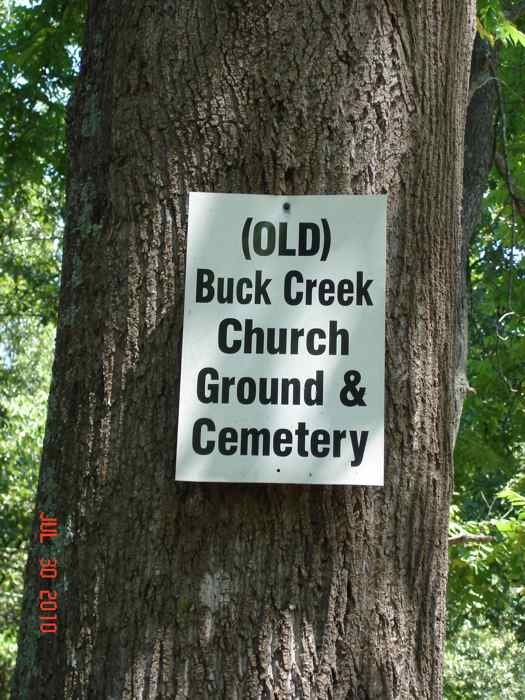Old Buck Creek Cemetery