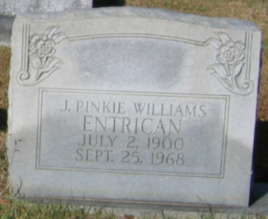 J. Pinkie <i>Williams</i> Entrican