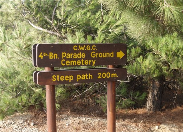 4th Battalion Parade Ground Cemetery