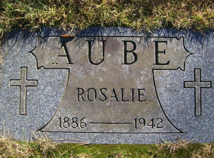 Cildia Cedile, Sadie <i>Hebert</i> Aube