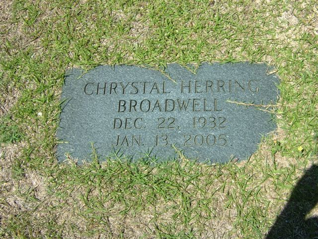 Chrystal <i>Herring</i> Broadwell