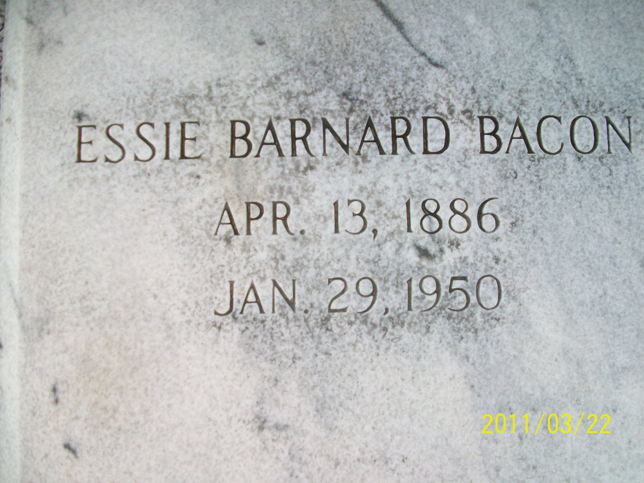 Essie <i>Barnard</i> Bacon