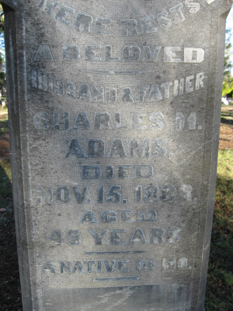 Charles M. Adams