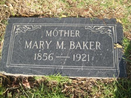 Mary M Baker