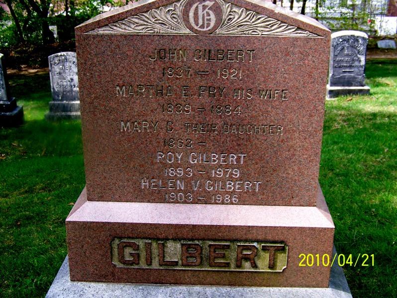 Helen V. <i>Green</i> Gilbert