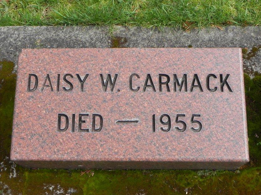 Daisy <i>Wilhite</i> Carmack