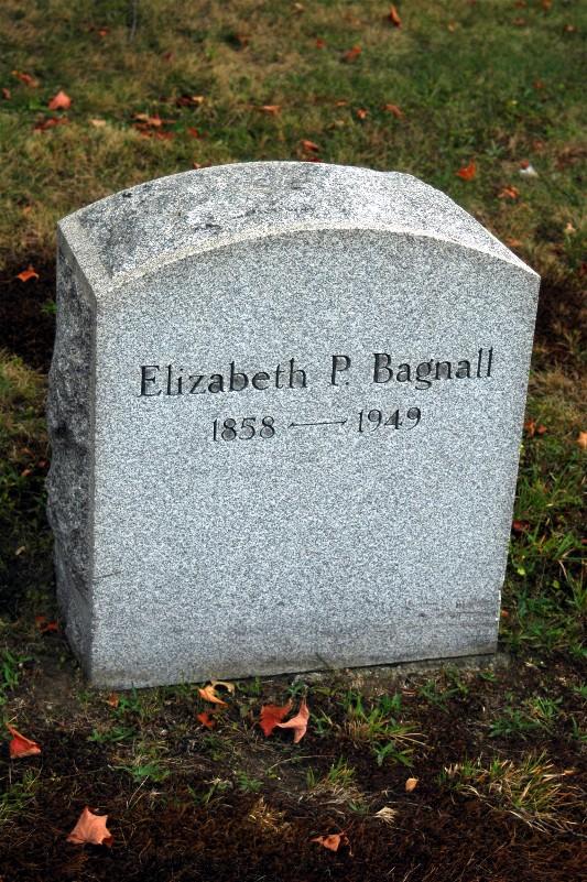 Elizabeth <i>Pendleton</i> Bagnall