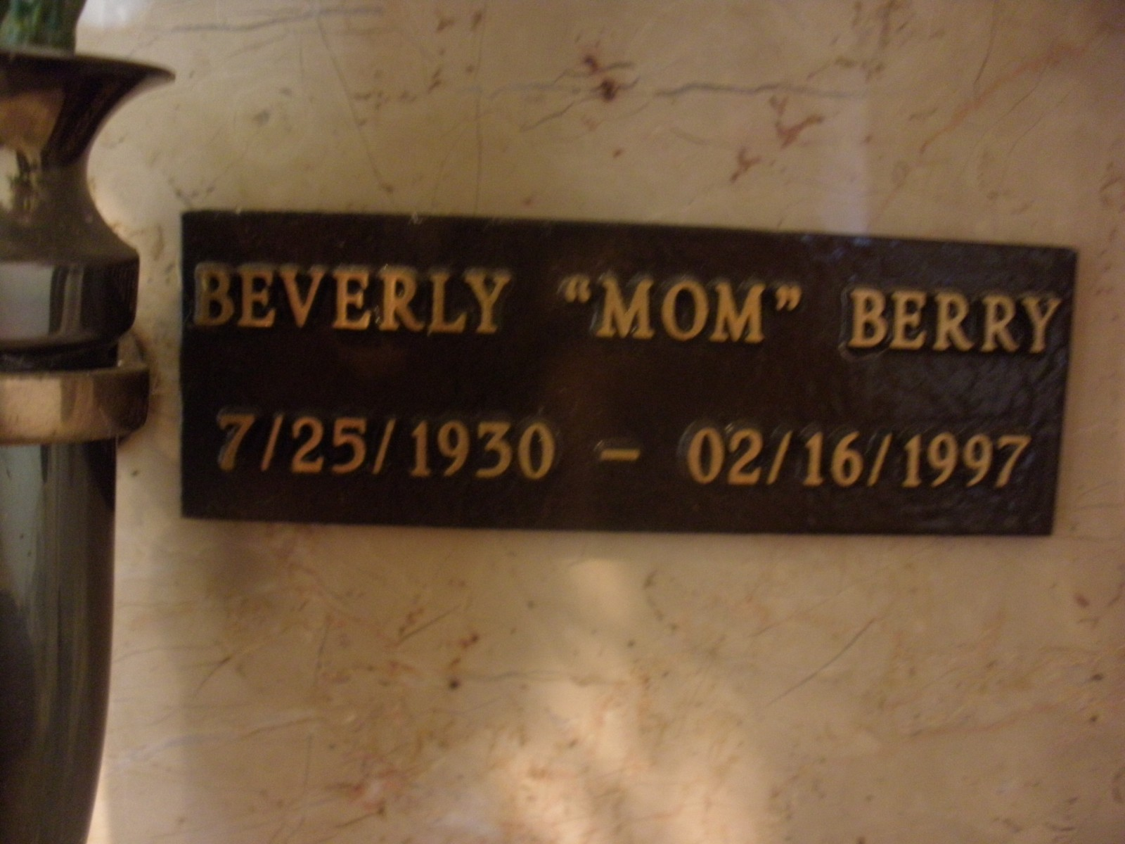 Beverly Eudora Mom <i>Hudson</i> Berry