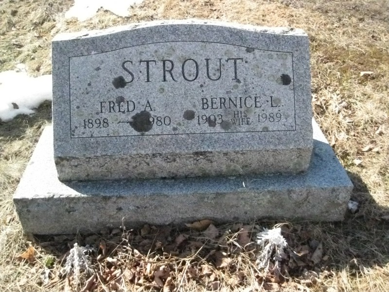 Fred A Strout, Sr
