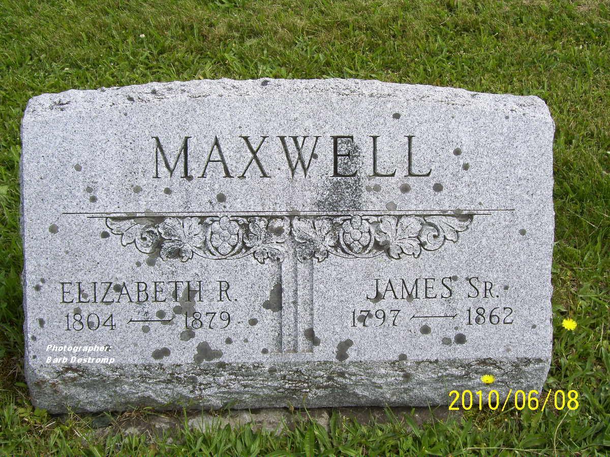 Elizabeth <i>Roulston</i> Maxwell