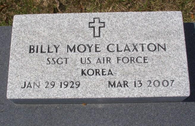Billy Moye Claxton