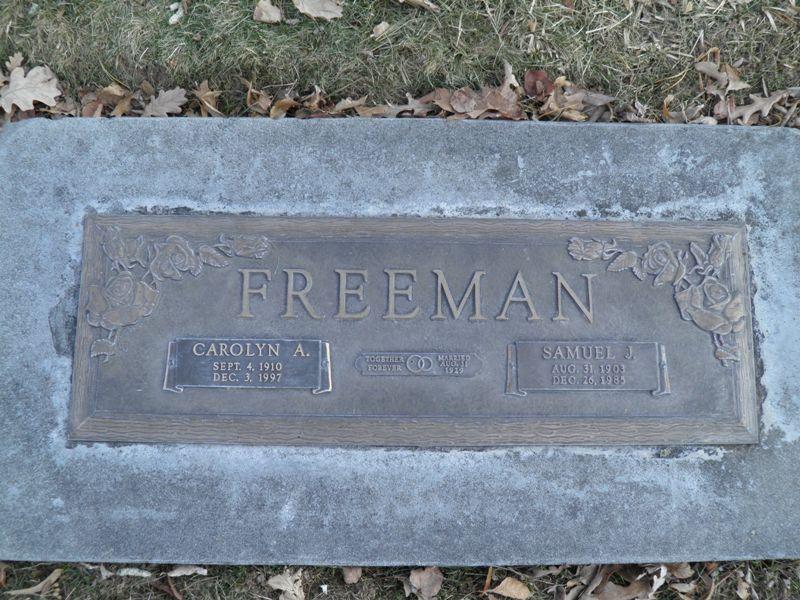 Carolyn Ann Freeman
