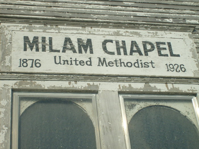 Milam Chapel Cemetery