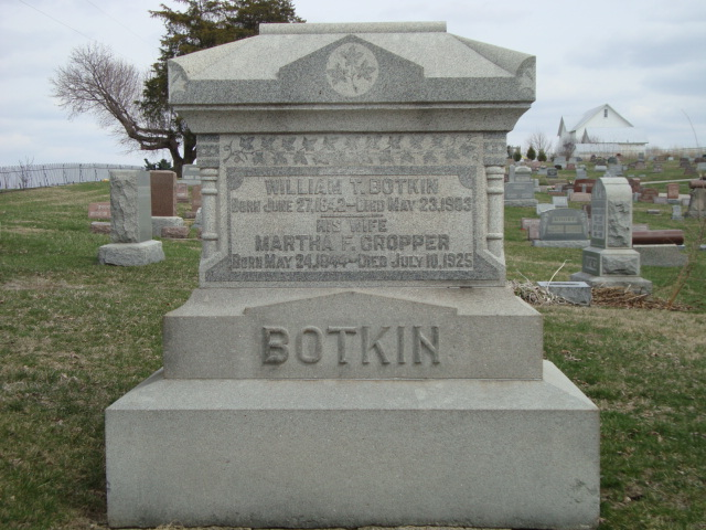 Martha Frances <i>Cropper</i> Botkin
