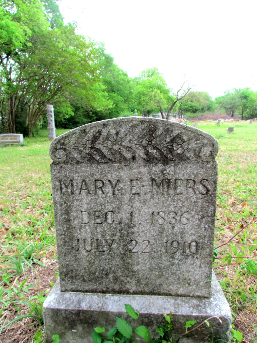 Mary E. <i>Crawford</i> Miers