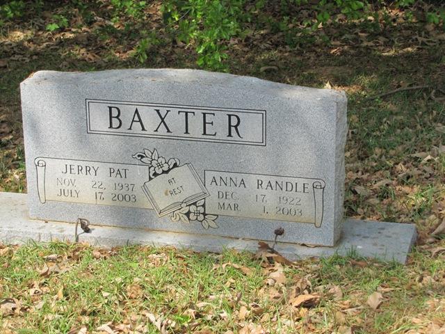 Anne <i>Randle</i> Baxter