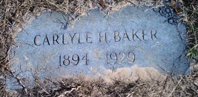 Carlyle Hamilton Baker, Sr