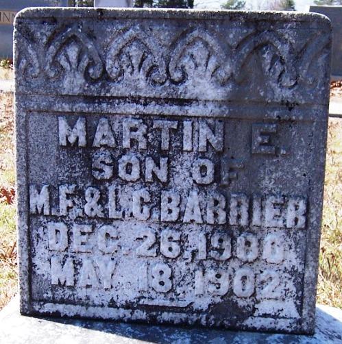 Martin Edgar Barrier