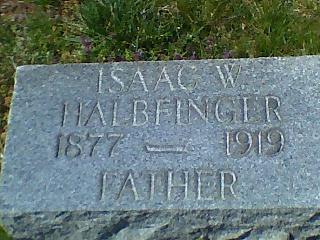 Isaac Wolf Halbfinger