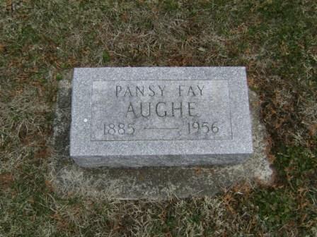 Pansy Fay <i>Bennett</i> Aughe