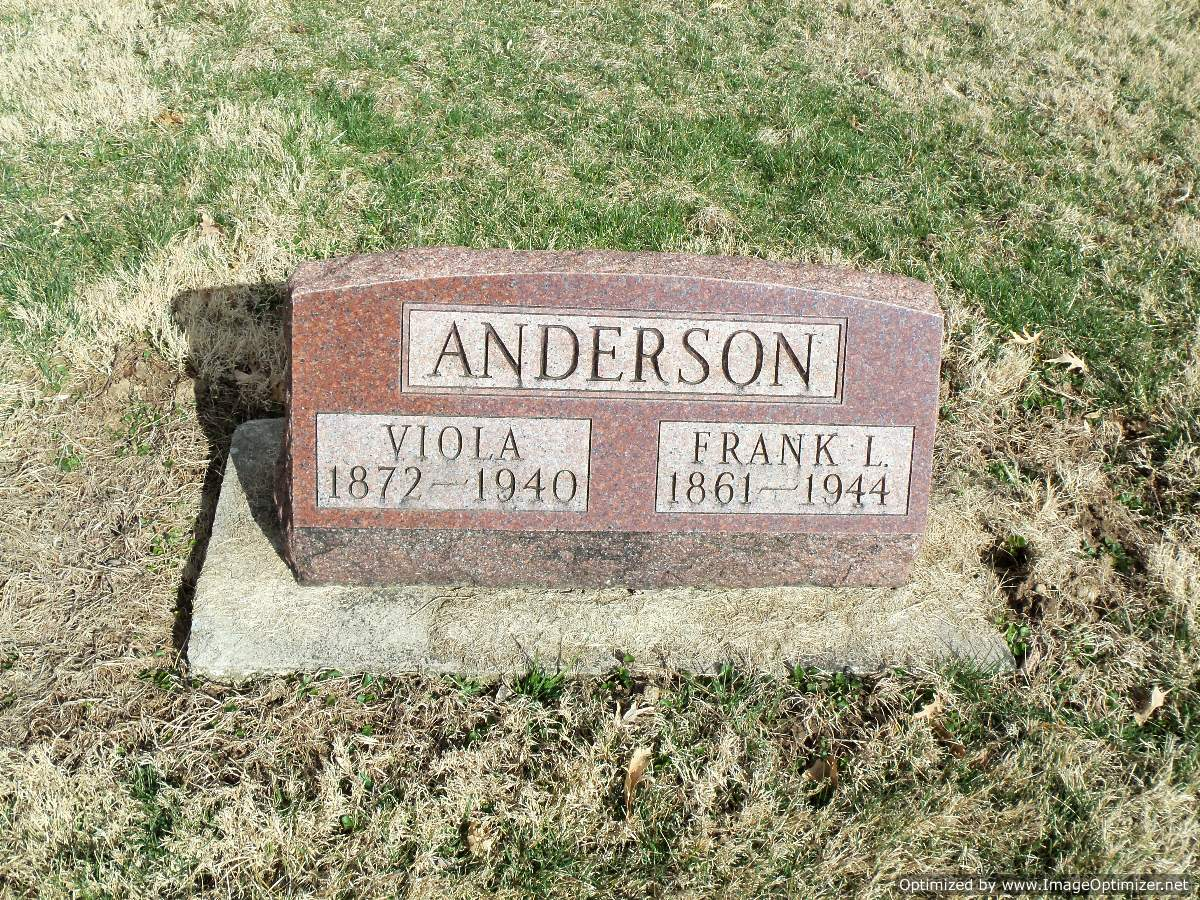 Viola <i>Blue</i> Anderson