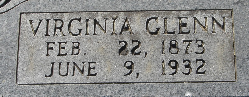 Virginia Jennie <i>Glenn</i> Alexander