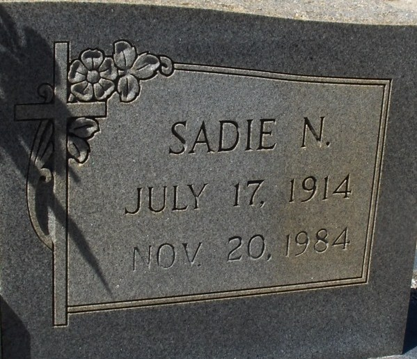 Sadie <i>Needham</i> Allen