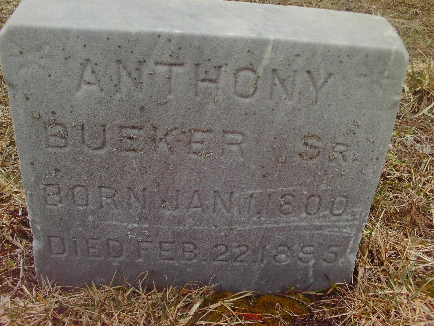 Anthony Bueker, Sr