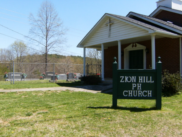 Zion Hill Pentecostal Holiness Church Cemetery in Millers