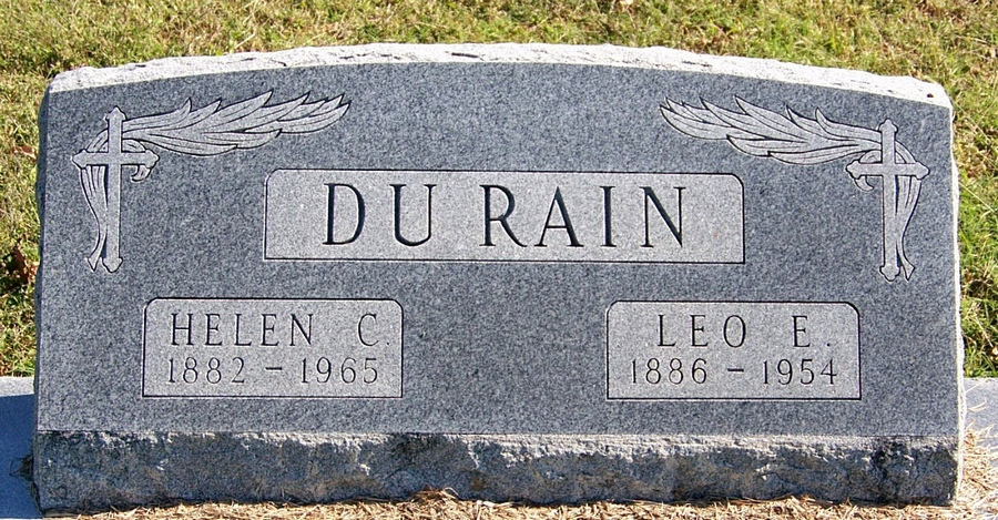 Helen C <i>Courtright</i> DuRain