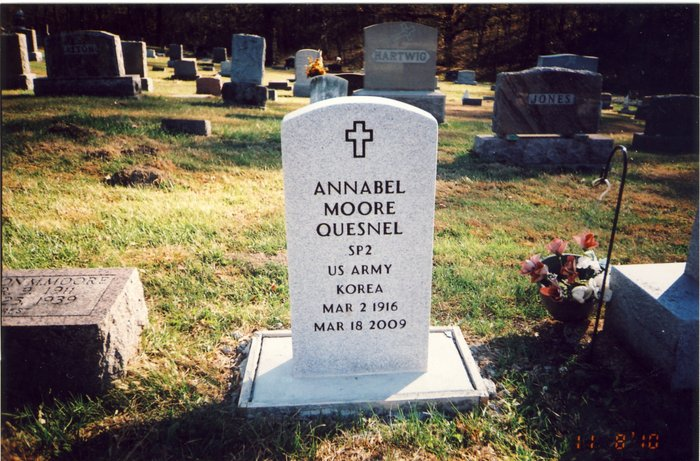 Annabel Ann <i>Moore</i> Quesnel