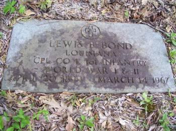 Lewis B Bond