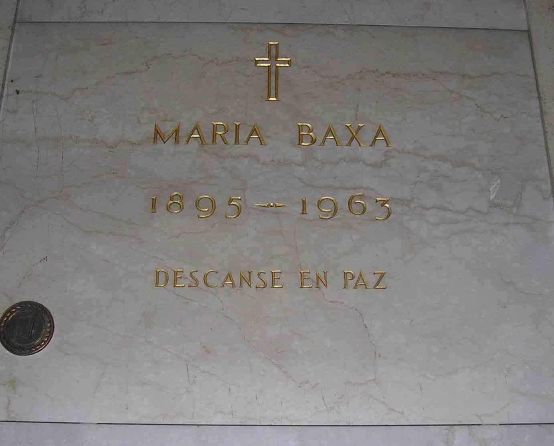 Maria Baxa