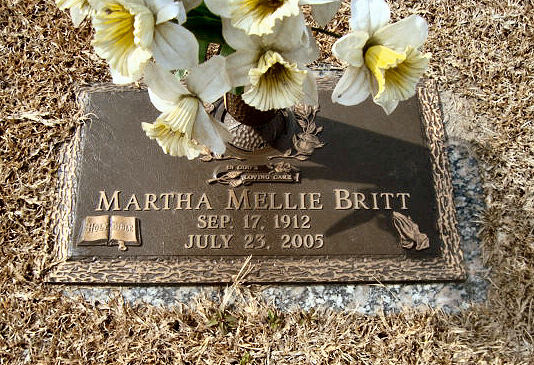 Martha Mellie <i>Bilton</i> Britt