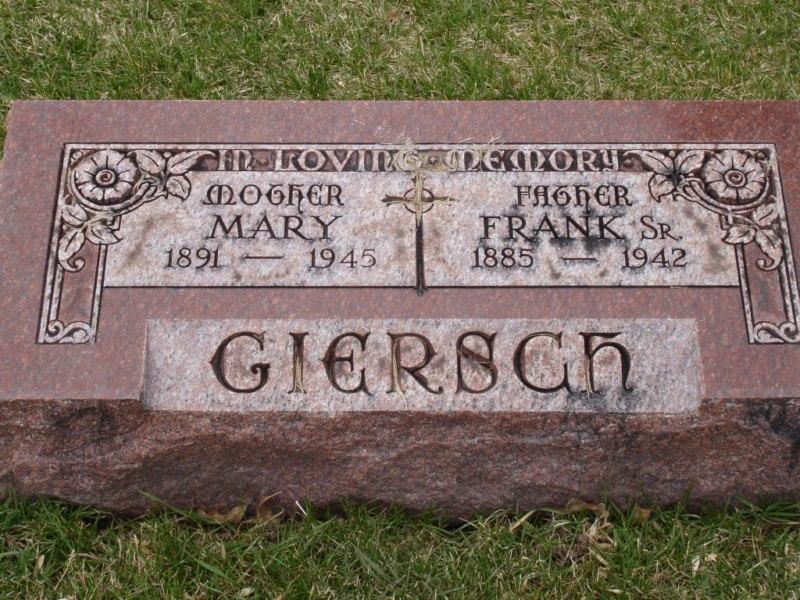 Mary <i>Zalewski</i> Giersch