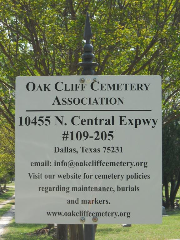 Oak Cliff Cemetery