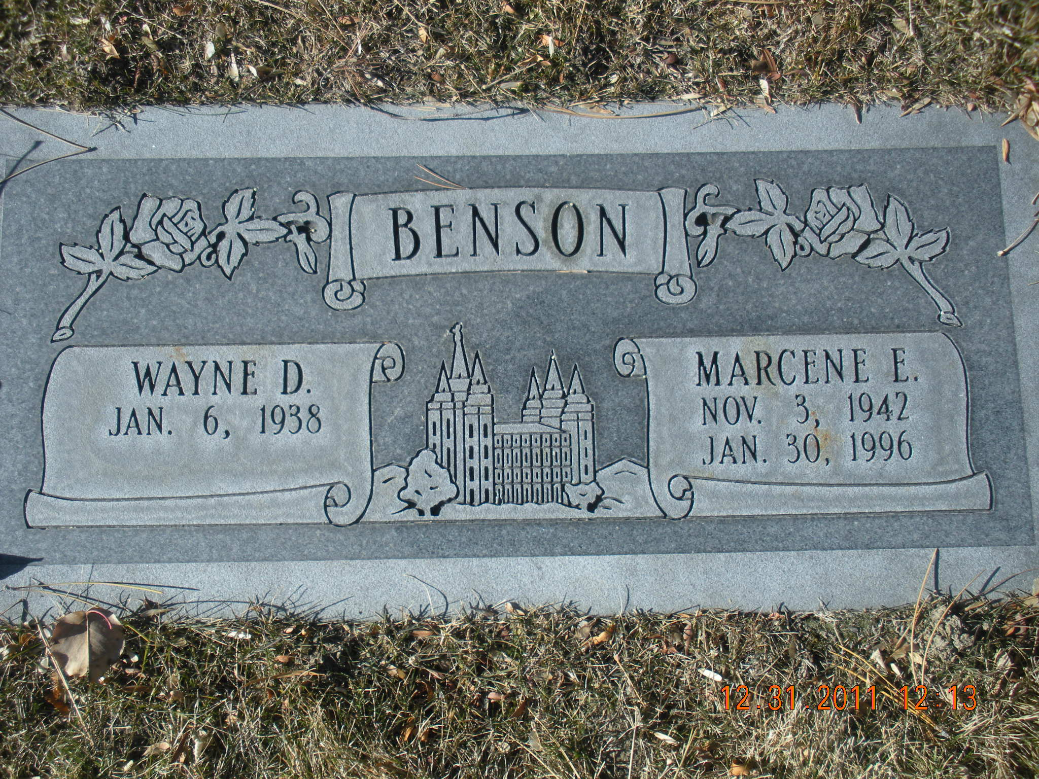 Marcene <i>Edwards</i> Benson