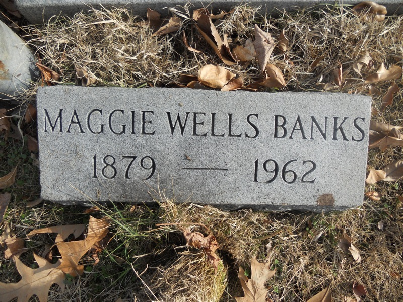 Maggie <i>Wells</i> Banks
