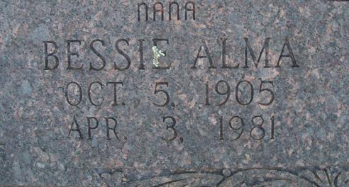 Bessie Alma Beneux