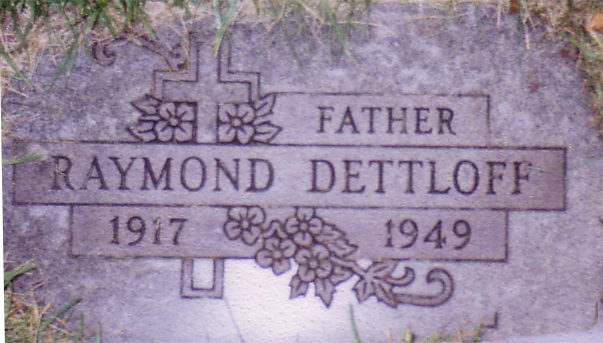 Raymond William Dettloff