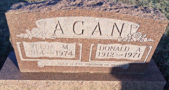 Donald A Agan